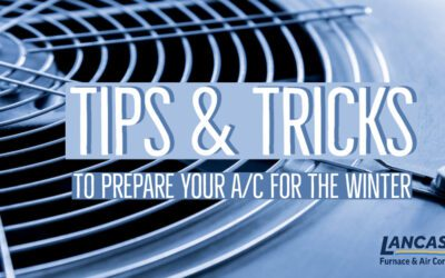 Tips & Tricks to Prepare Your A/C for the Winter