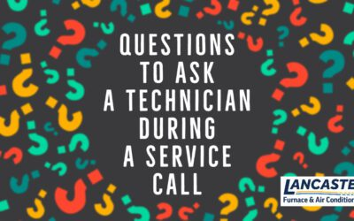 Questions to Ask a Technician During a Service Call